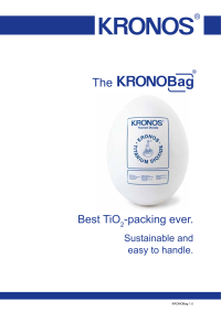 KRONOBag Flyer